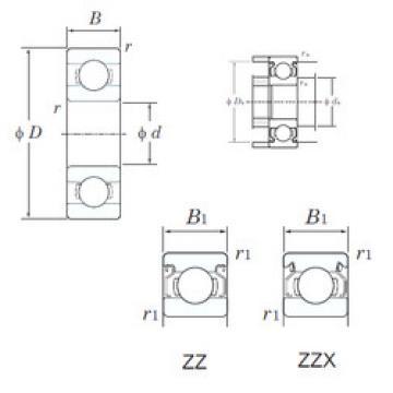 Bearing W69/1.5ZZX KOYO